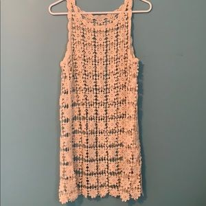 Lace cover up